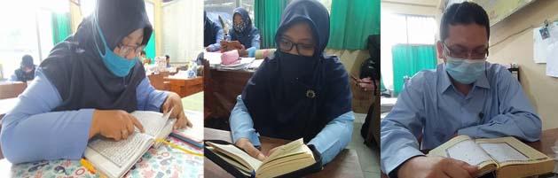 Tadarus dan Tadzabur Al Qur'an Menghiasi Pagi di SMK Muhammadiyah Wonosari